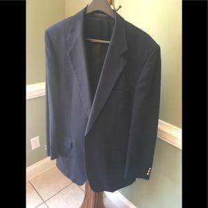Men's blazer, dark blue